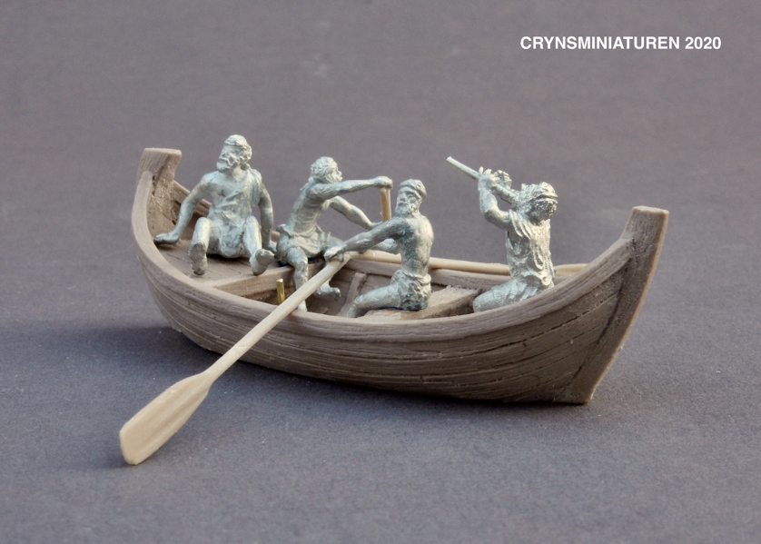 resin cast pewter figurines